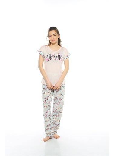 Estiva Pijama Takım Somon